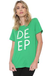Camiseta Forum Deep Verde