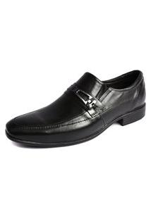 Sapato Social Shoes Grand Line Roma Preto