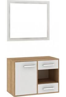 Gabinete De Banheiro Com Espelho Gb02 - Fellicci Móveis Elare