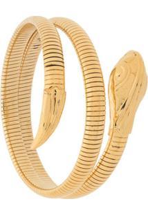 Gas Bijoux Serpent Bracelet - Dourado