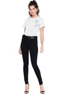 Camiseta M.Officer Basic Silk Feminina - Feminino