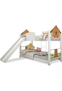 Beliche Infantil Casinha Prime Casa Na ÁRvore Escorregador Casah - Multicolorido - Dafiti