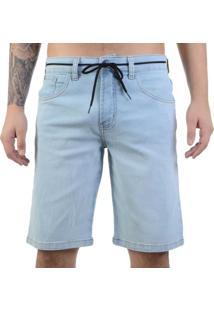 Bermuda Element Jeans Essentials Azul Claro - Azul / 42