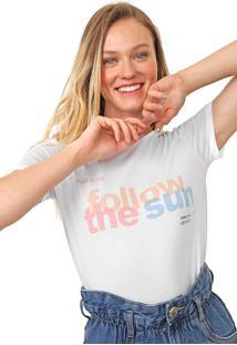 Camiseta Lez A Lez Lettering Branca
