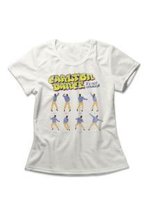 Camiseta Feminina Carlton Dance Off-White