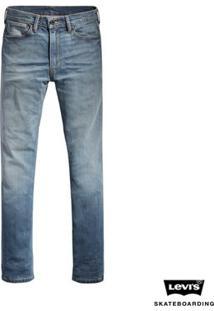 Calça Jeans Levis Masculino Skateboarding 511 Slim Indigo - Masculino-Azul