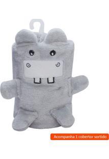 Cobertor Infantil Amigo Sortido