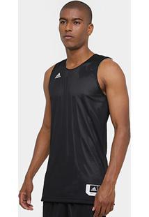 Camiseta Regata Adidas Treino Reversivel Masculina - Masculino 915e093472619