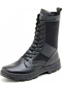 Bota Atron Shoes Amarrar - Masculino-Preto