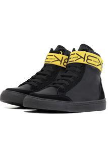 Tênis Sneaker K3 Fitness Six Preto