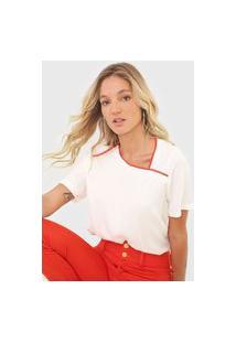 Camiseta Forum Textura Off-White