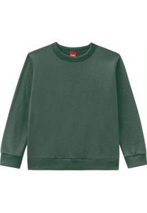 Casaco Infantil Masculino Verde