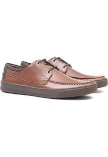 Sapato Deckshoes Samello Pajero Couro Masculino - Masculino