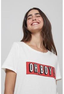 Camiseta Oh, Boy! Feminina - Feminino