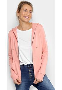 2df4131cf Jaqueta Adidas Ess Solid Fz Feminina - Feminino-Rosa