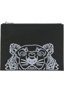 Kenzo Bolsa Carteira 'Tiger' - Preto