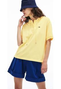 Camiseta Lacoste Amarelo