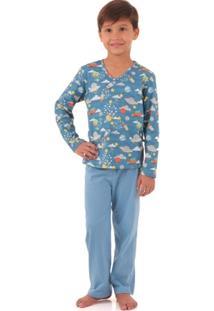 Pijama Longo Com Repelente - Masculino
