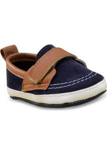 Sapato Masc Infantil Molekinho 2950102 Marinho/Caramelo