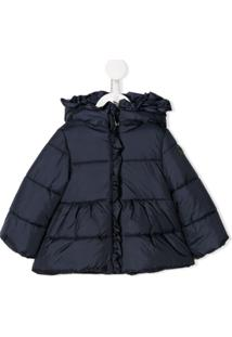 Il Gufo Hooded Padded Coat - Azul