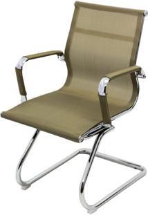 Cadeira Eames Telinha Fixa Cobre Cromada - 29081 - Sun House