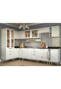 Cozinha Completa 12 Peças Americana Multimóveis 5647 Branco