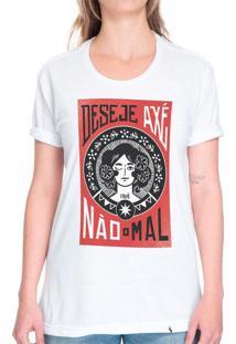 Deseje Axé, Não O Mal - Camiseta Basicona Unissex