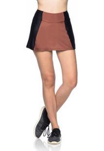 Saia Shorts Fitness Style - Feminino 95dd888069c0a