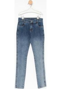 Calça Jeans Infantil Express Marlon Masculina - Masculino-Azul