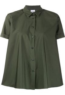 Aspesi Camisa Mangas Curtas Brusa - Verde