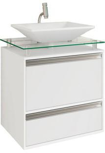Gabinete De Banheiro Faro 1 Pt 1 Gv Branco