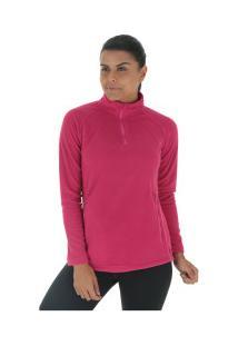 99586c98b9 Blusa De Frio Fleece Nord Outdoor Basic - Feminina - Rosa Escuro