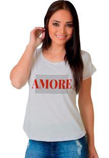 Camiseta Shop225 Amore Branco