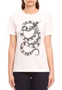 Camiseta Forum Estampada Off-White - Kanui