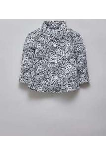 Camisa Bb Pf Liberty Luna Reserva Mini Branco