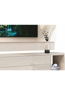 Rack Com Painel Delux 1.8 Off White Moveisaqui
