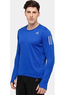 5dfb745e3a8f4 Camiseta Adidas Response Manga Longa Masculina - Masculino