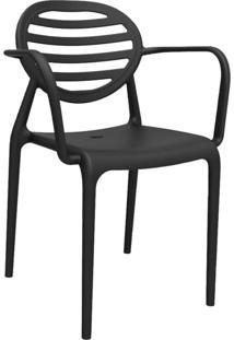 Cadeira Stripe Preto