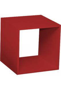 Nicho Cubo Com Fundo Branco Enea Baby Bramov Móveis Vermelho