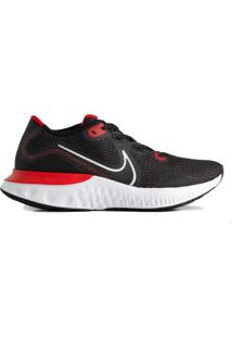 Tênis Masculino Nike Renew Run Corrida Preto/Vermelho - 38