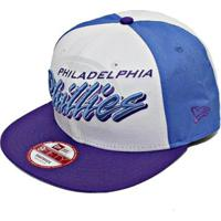 Boné New Era Aba Reta Snapback Mlb Phillies Gamer - Unissex 355e0380eeb