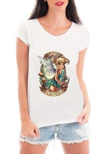 Camiseta Criativa Urbana Fada Fadinha - Feminino