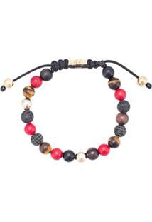 Nialaya Jewelry Pulseira De Contas - Vermelho