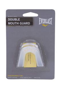 Protetor Bucal Everlast Double 4410 - Transparente