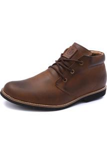 Bota Shoes Grand Casual New York Taupe Tamanho Grande