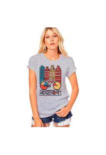 Camiseta Coolest Amsterdam Cinza
