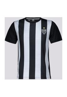 Camisa Atlético Mineiro Wag Juvenil Preta