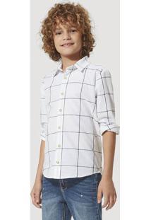 Camisa Xadrez Infantil Menino São João Hering Kids