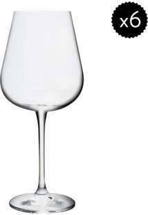 Jogo De Taças Para Vinho Amundsen- Cristal- 6Pçsdynasty