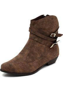 6e2e8989b7 Bota Country Dafiti Shoes Fivelas Marrom